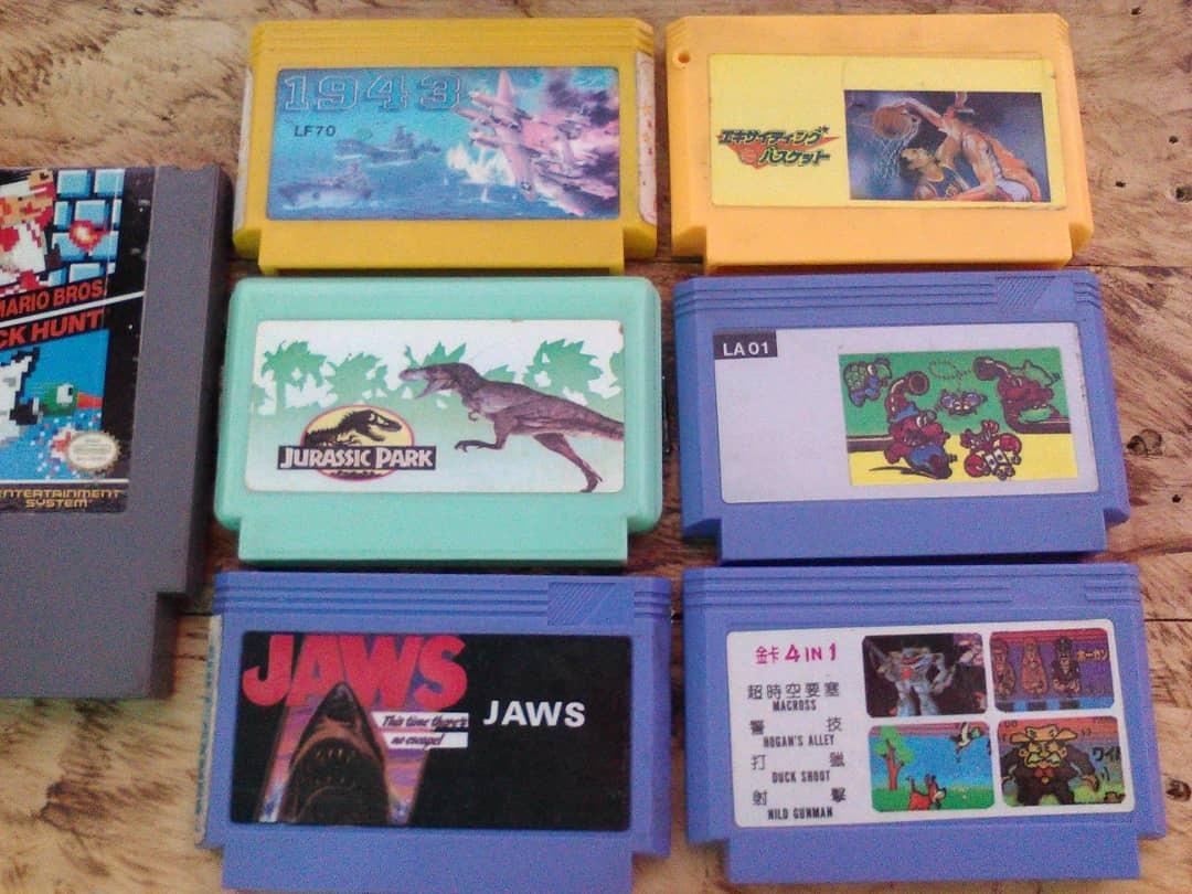Juegos Nintendo Nes Famicom Combo Bs 180 00 En Mercado Libre