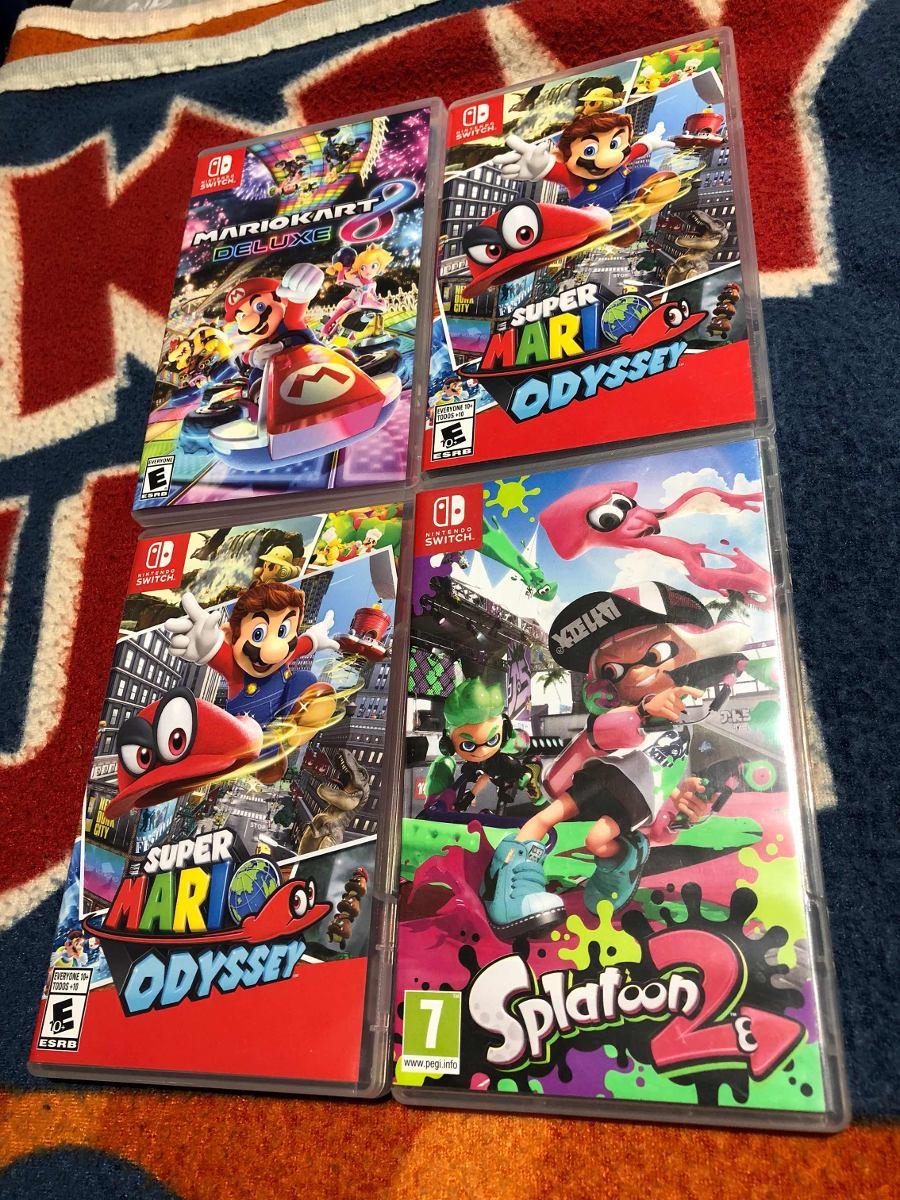 Juegos Nintendo Switch Usados 2 450 00 En Mercado Libre