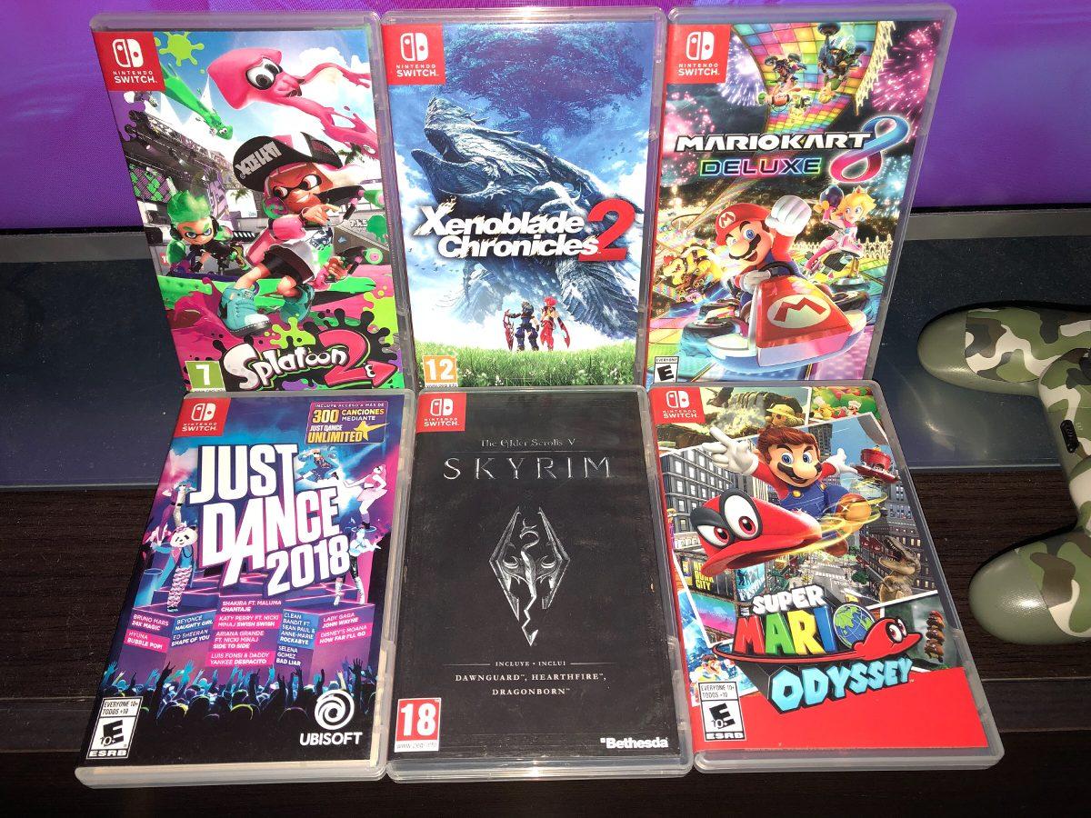 Permuto Juegos De Nintendo Switch 100 00 En Mercado Libre