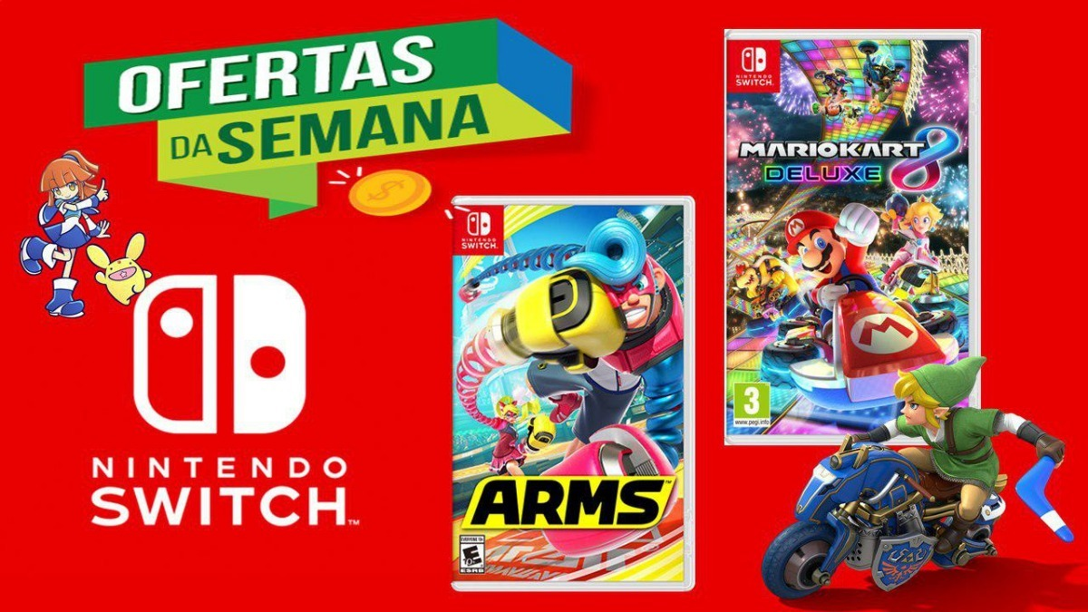 Pack X2 Juegos Nintendo Switch 800 00 En Mercado Libre