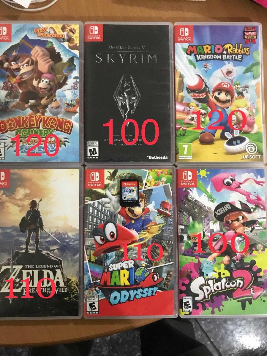 Juegos Nintendo Switch Espanol S 80 00 En Mercado Libre