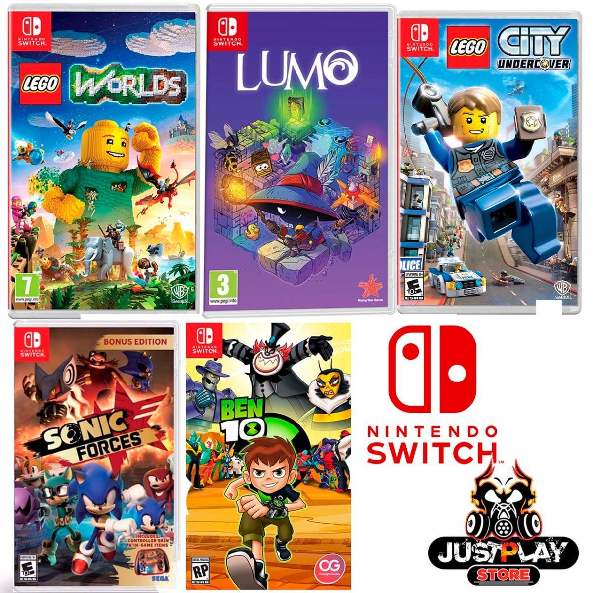 Juegos Nintendo Switch Fisico Original Nuevo Tienda Chacao Bs