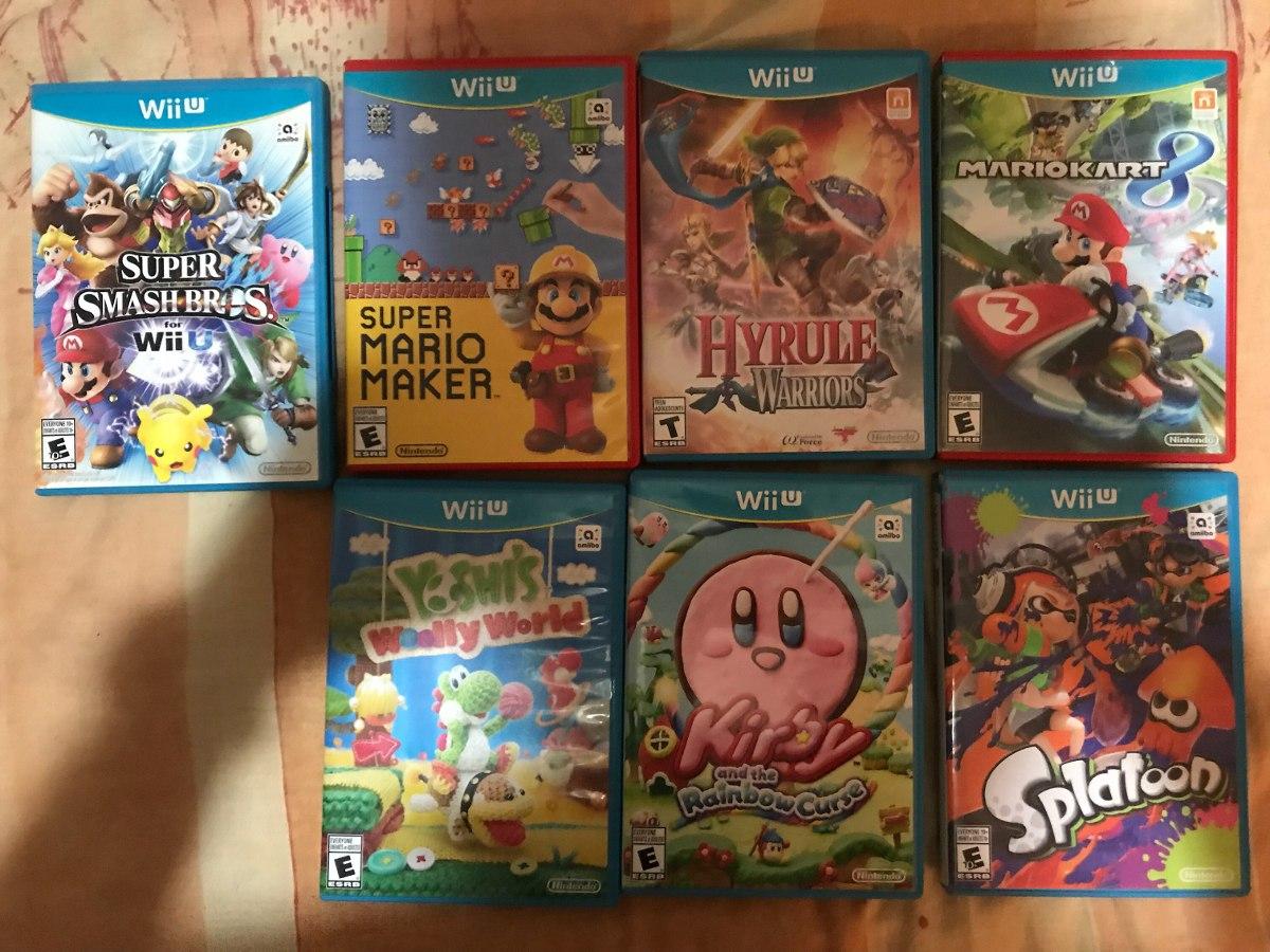 Juegos De Nintendo Wii U Variados 2 500 00 En Mercado Libre