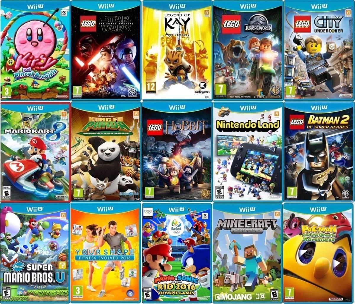 Juegos Nintendo Wii U 40 00 En Mercado Libre