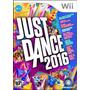 Juegos Nintendo Wii Just Dance 2016 Nuevo Original Y Sellado