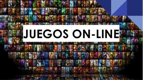 juegos on line , juegos de pc, notebook, androi .