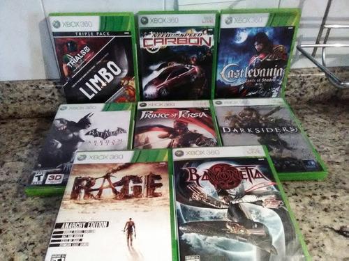 juegos originales de xbox 360 titulos varios