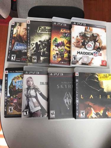 juegos originales ps3 x 2