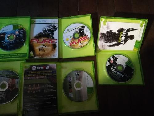 juegos originales xbox 360usados
