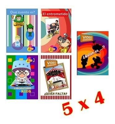 juegos para animar fiestas, dj cumpleaños pack 5 juegos