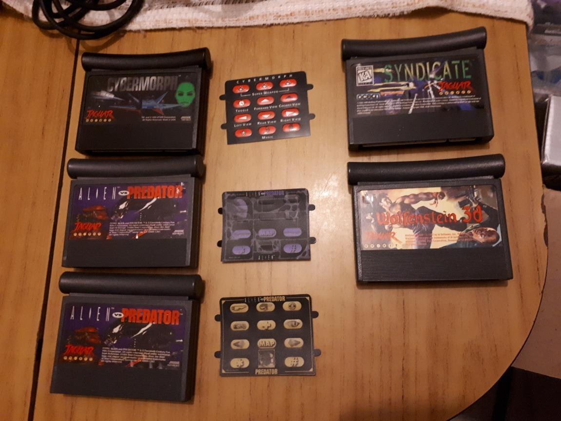 Juegos Para Atari Jaguar 3 500 00 En Mercado Libre