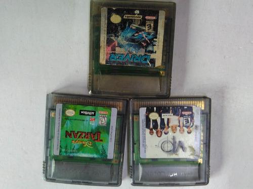 juegos para gameboy tabique originales