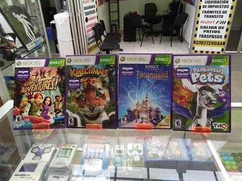 Juegos Para Kinect A 30 C U O 2 Por 50mil 30 000 En Mercado Libre