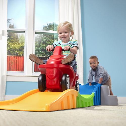 juegos para niños, carrito, montaña rusa