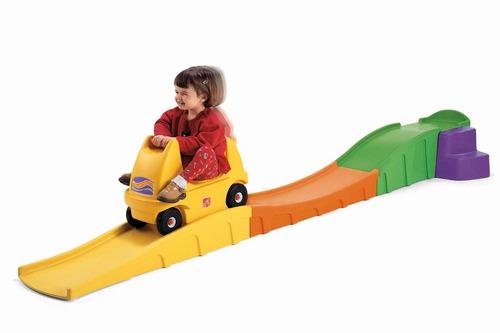 juegos para niños, carritos, montaña rusa