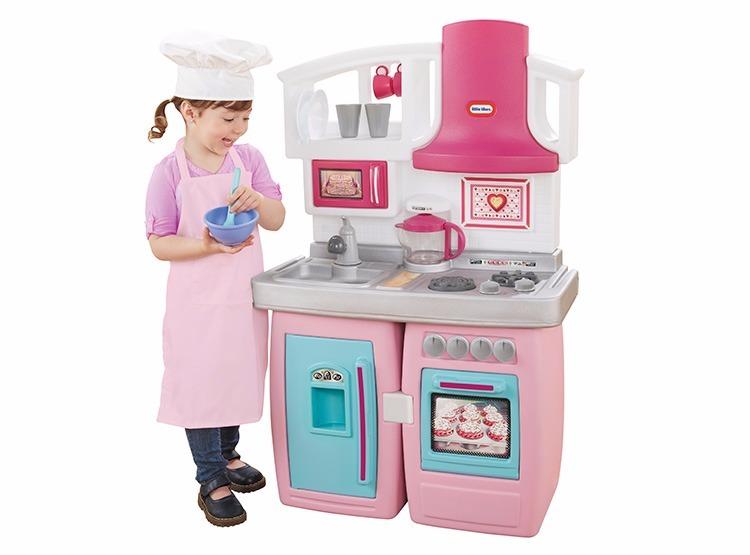 Juegos Para Niños Cocina Convertible Rosa Niña Little Tikes