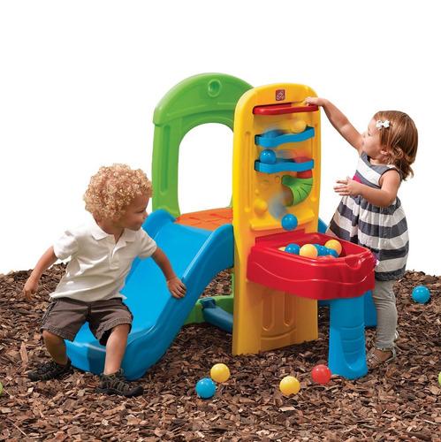 juegos para niños, resbaladeras, columpios - step2