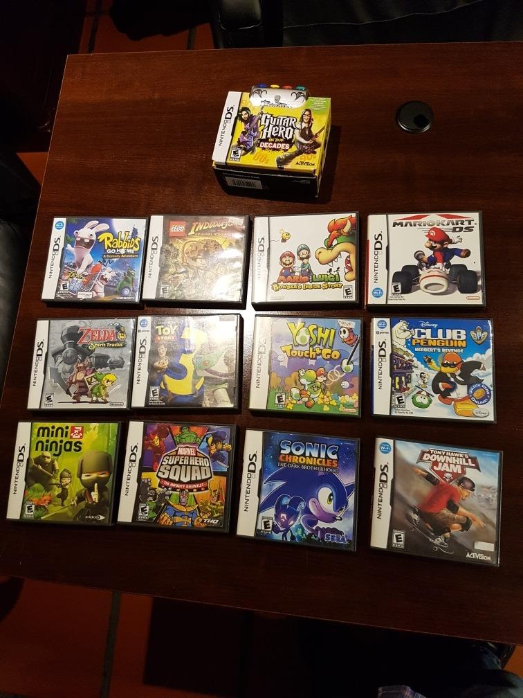 Juegos Para Nintendo Ds Varios Titulos Leer Descripcion 3 799 00