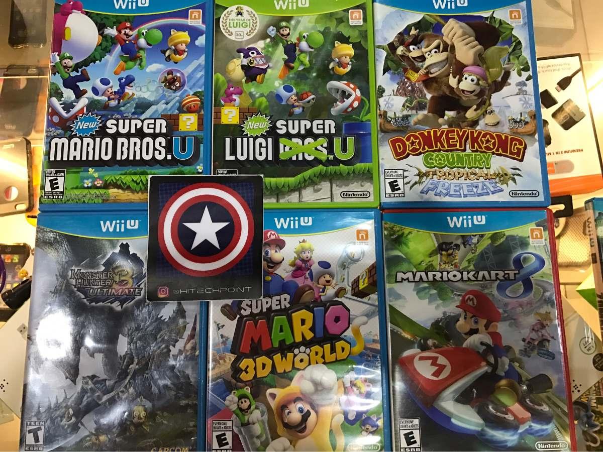 Juegos Para Nintendo Wii U Los Mejores Mario Bros Bs 0 75 En