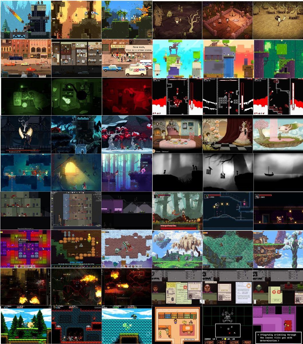 Usb 32 Gb De 90 Juegos Indie Para Pc Videojuegos Pc 700 00