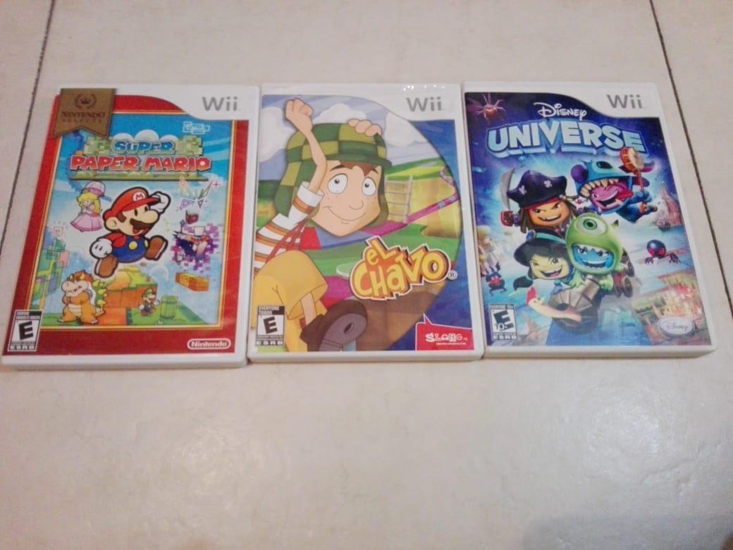 Juegos Para Wii Super Paper Mario Disney Universe El Chavo