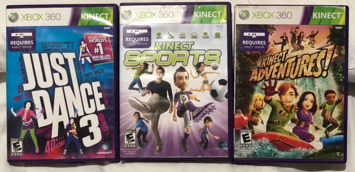 Juegos Para X Box 360 Kinect 100 000 En Mercado Libre