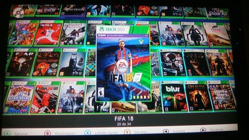 juegos para xbox 360 con chip rgh gta pes fifa gear nfs nba