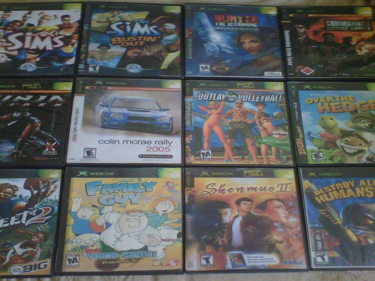 Juegos Para Xbox Clasico Parte 2 Bs 250 00 En Mercado Libre