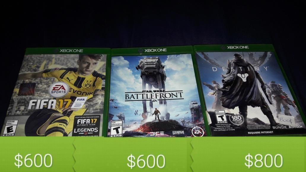 Juegos Para Xbox One Vendo Permuto 2 000 00 En Mercado Libre