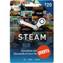 Steam Gift Card $20 En Pc Linux Mac Para Steam Valve Wallet