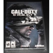 Call Of Duty Ghosts+pc Original+nuevo Sellado+formato Fisico