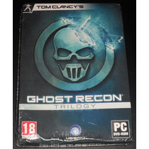 Ghost Recon Trilogy+pc Original+formato Fisico+nuevo Sellado