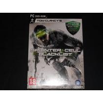 Splinter Cell Blacklist+nuevo+formato Fisico Original Pc