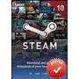Steam Gift Card $10 En Pc Linux Mac Para Steam Valve Wallet