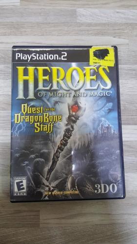 juegos  play 2 original héroes of might and mágic