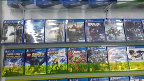 juegos play station 4