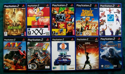 juegos playstation 2 gran variedad de títulos mas de 5 mil