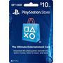 Tarjeta Prepago De 10usd Playstation Network Card - Usa