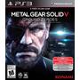 Metal Gear Solid 5 Ps3, Playstation 3 Juego Original Sellado