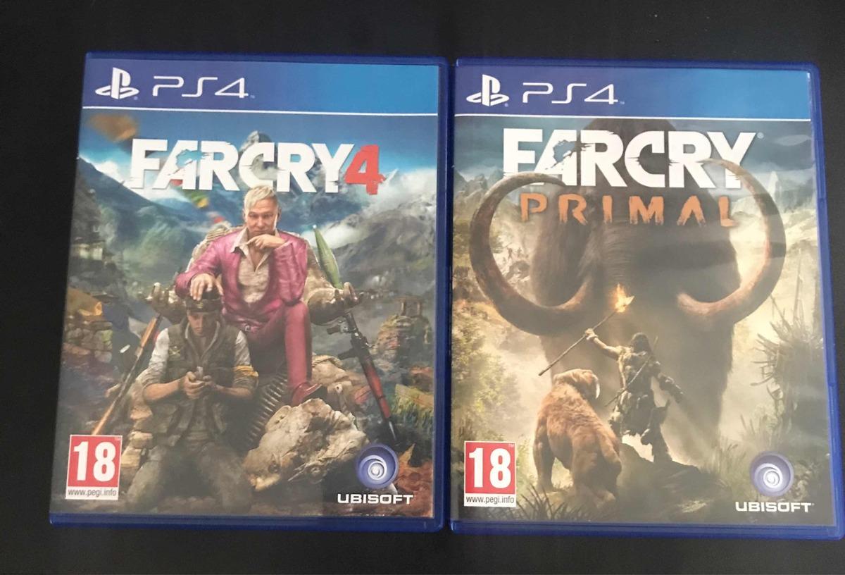 Juegos Playstation 4 Farcry Primal Y Farcry 4 Como Nuevos 25 000