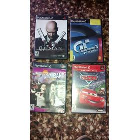 Juegos Ps2 Gran Turismo - Hitman - Cars - Nickelodeon