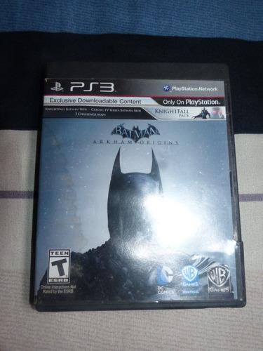 juegos ps3 - batman arkham origins