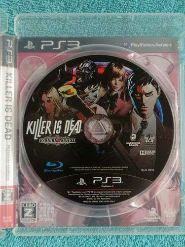 juegos ps3 killer is dead premium edition ( en ingles )