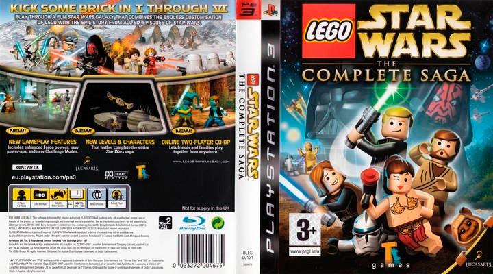 Lote De Juegos Ps3 Play 3 Lego Star Wars Complete Saga - $ 400,00 en ...