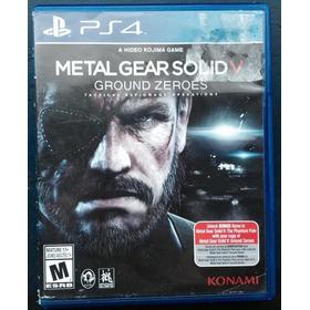 Juegos Ps4  (usados) Metal Gear Solid V    -   Ground Zeroes