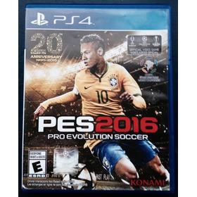 Juegos Ps4  (usados) Pes 2016