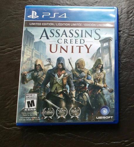 juegos ps4 assassins creed unity(15.000)
