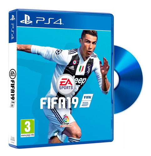 juegos ps4 fifa 19 fisico play station champions league