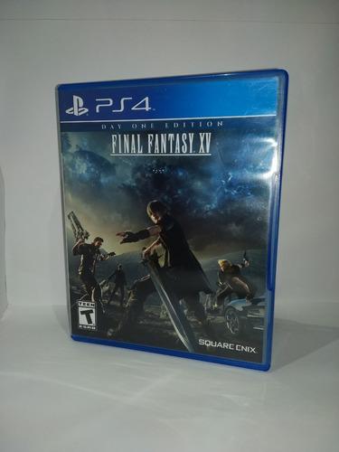 juegos ps4 final fantasy xv usado en perfecto estado.