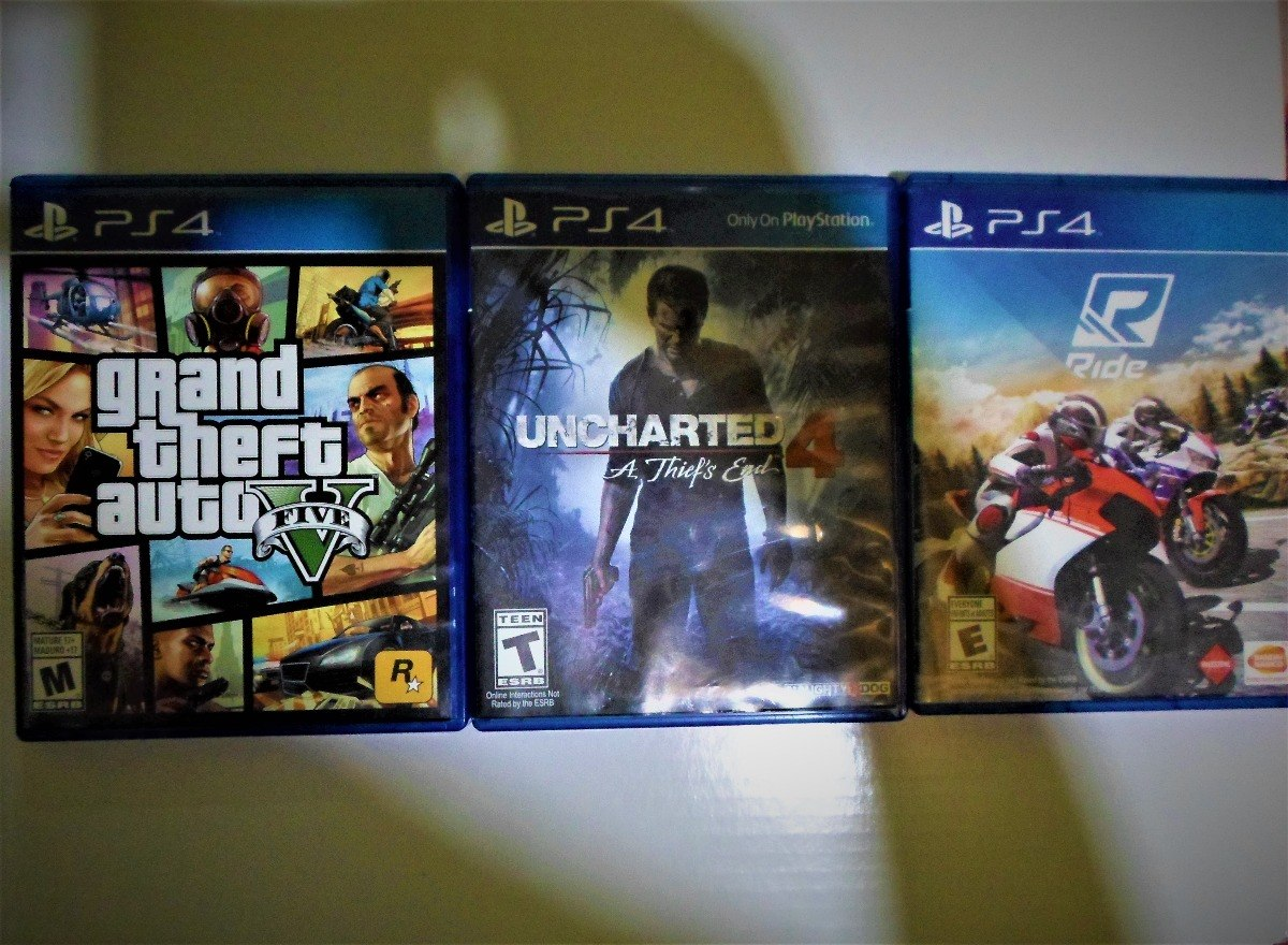 Juegos Para Ps4 Gta V Ride Unsarted 4 160 000 En Mercado Libre